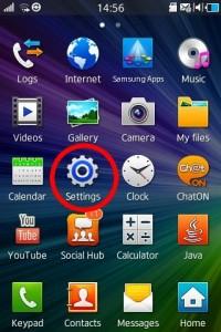 samsung wave pptp vpn settings