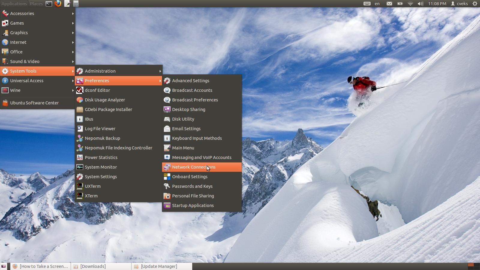 Ubuntu PPTP VPN Settings