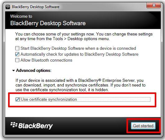 VPN For Blackberry